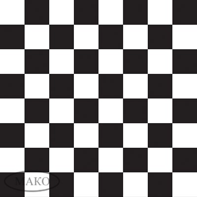 Cvet_dekor_W_Black_&_White_Checkerboard