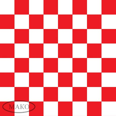 Cvet_dekor_W_Red_&_White_Checkerboard